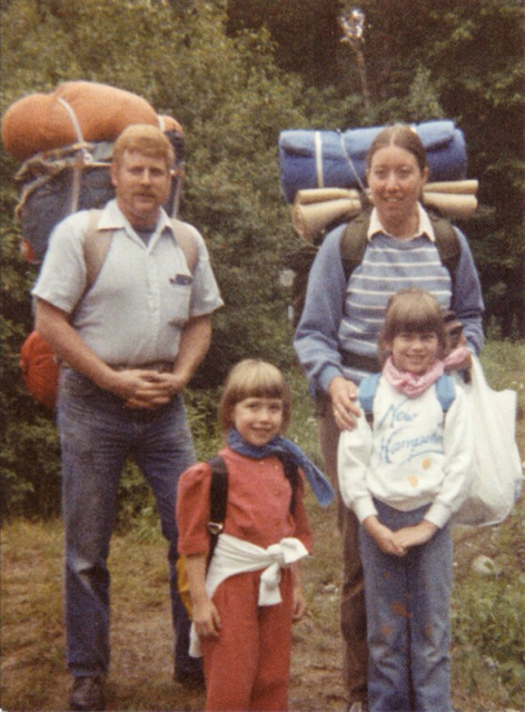 I'm currently at work on a memoir about my family's adventures hiking the Appalachian Trail.